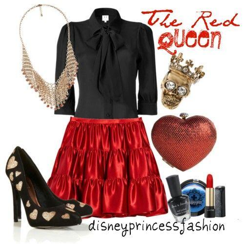 Red queen/queen of hearts