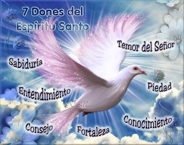 Imagenes De Cecill Los Dones Del Espiritu Santo Dones Del Espiritu Espiritu Santo Imagenes Del Espiritu Santo