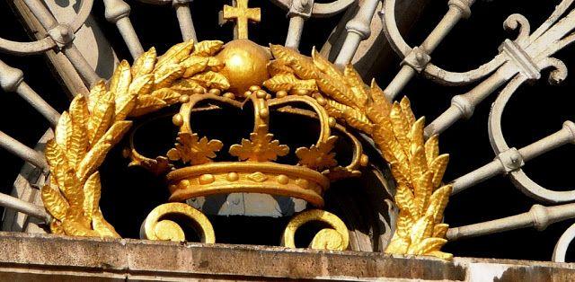 Coroa do palácio real de Madri