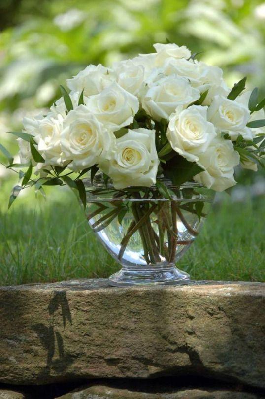 Rosas blancas | Maria Edith