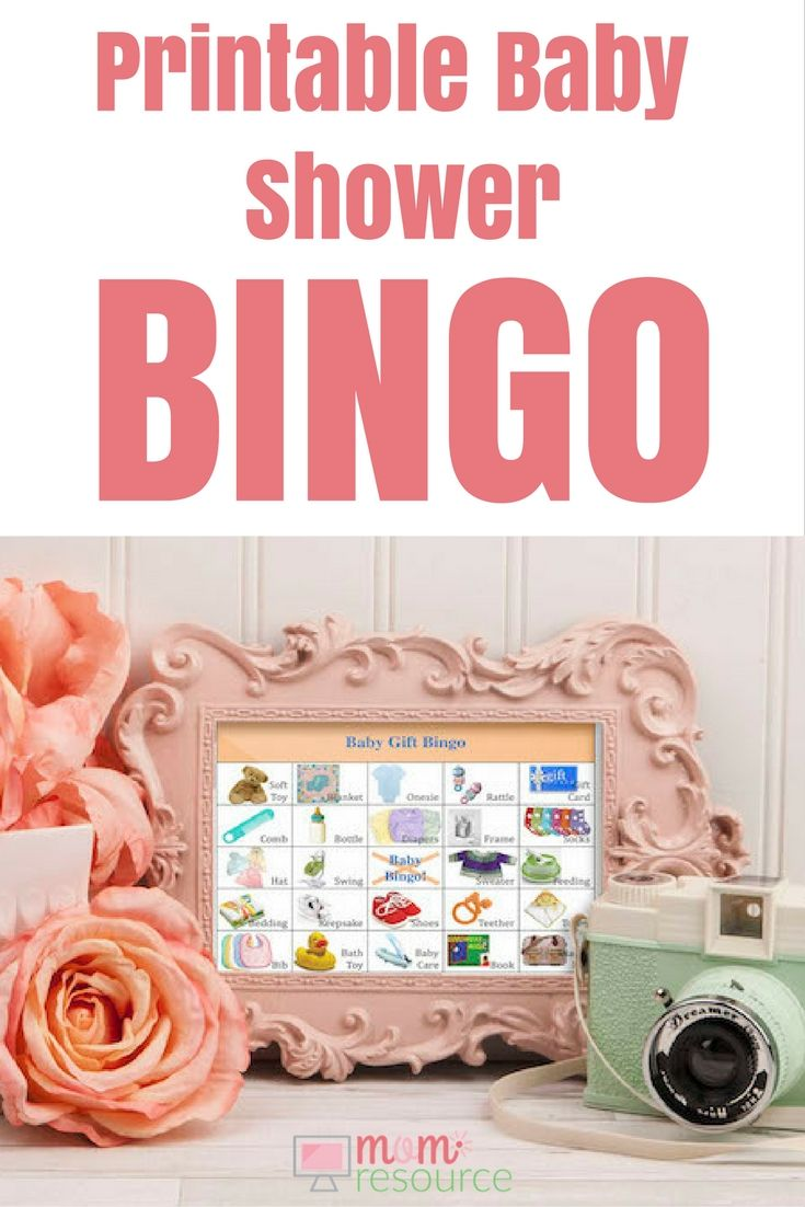 Printable Baby Shower Game Perfect For Last Minute Best Of