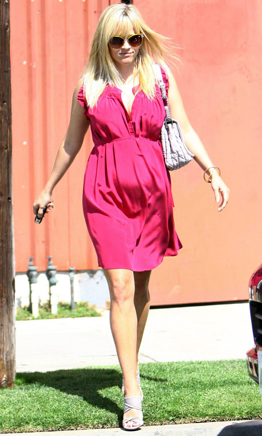 Reese Witherspoon\'s Baby Bump Style | Boda