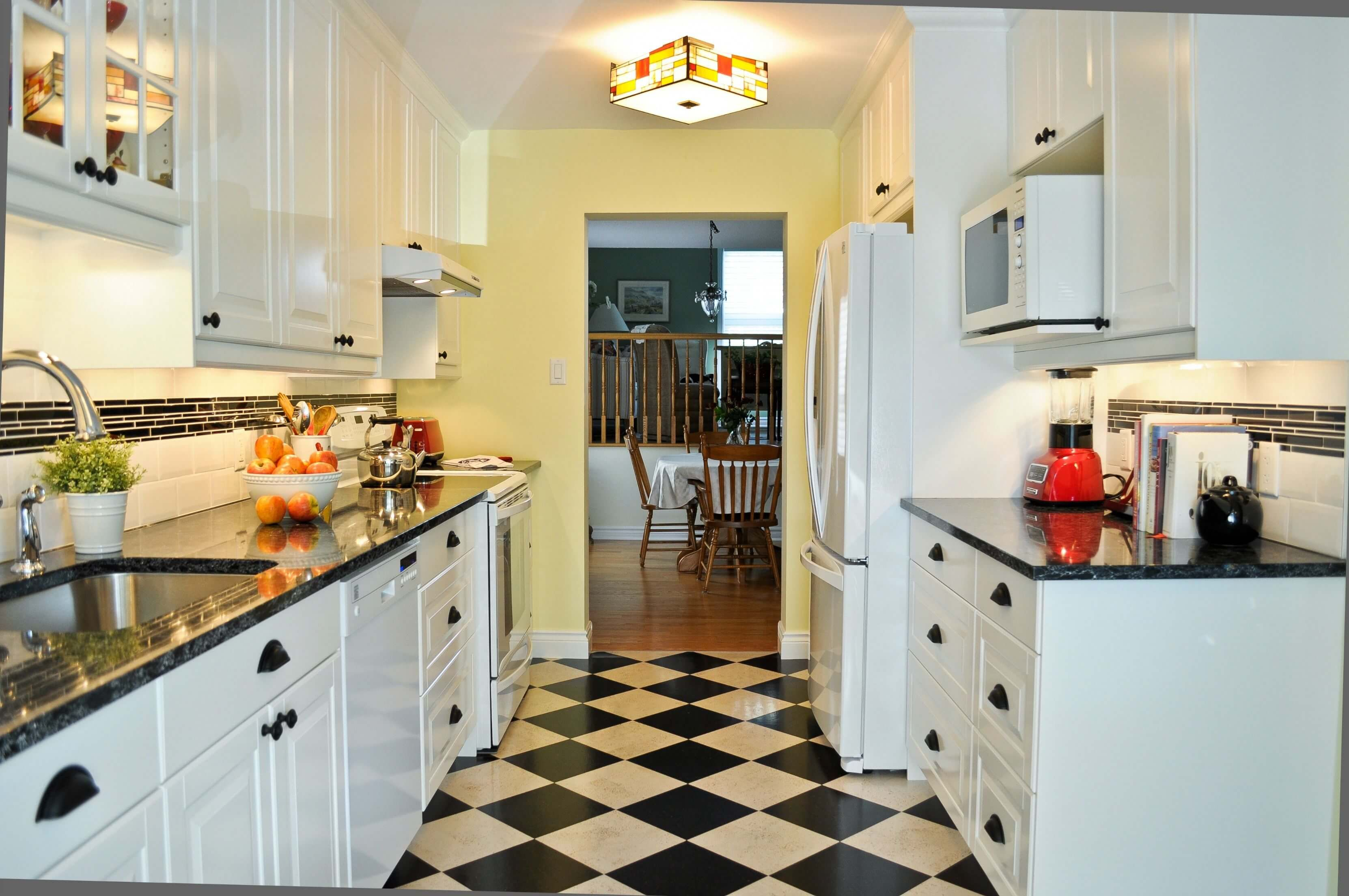 Getting into the spirit of the day is easy in a kitchen renovation