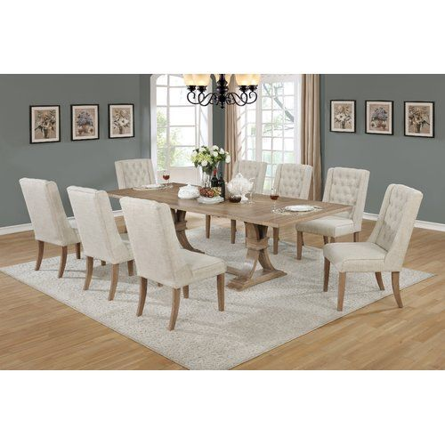 Found It At Joss & Main  Denville 9 Piece Dining Set  Furniture Entrancing 9 Piece Dining Room Design Decoration