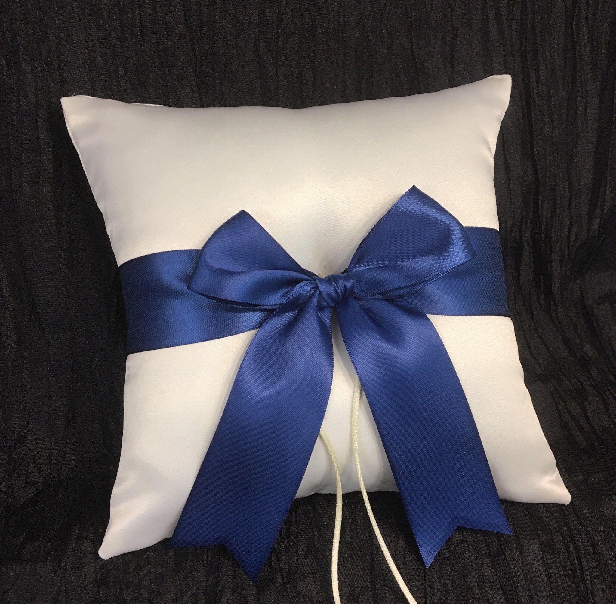 Ring Bearer Pillow Wedding white Bearer Pillow white Ring Pillow Wedding white royal Ring Pillows royal white flowers wedding ceremony set