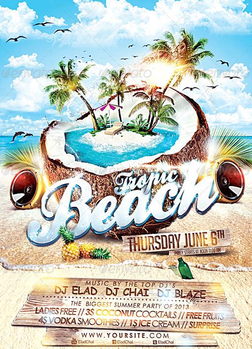 beach flyer