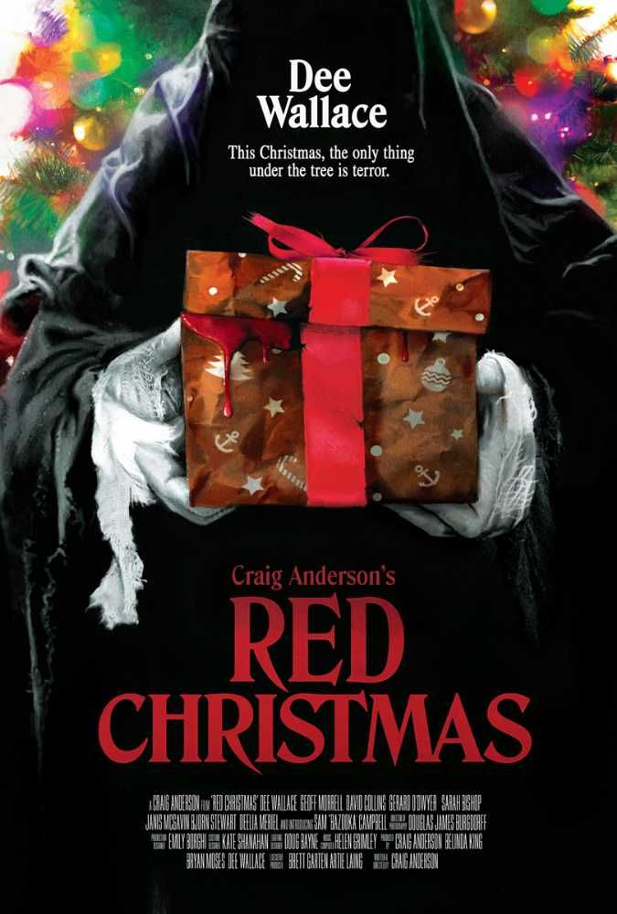 Red Christmas (2016)   Red christmas, Christmas horror movies, Christmas movies list