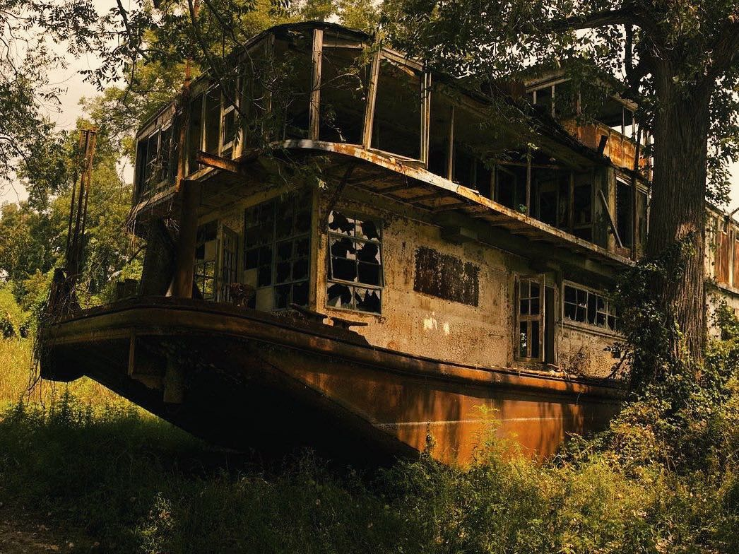 Abandoned Steamboat
