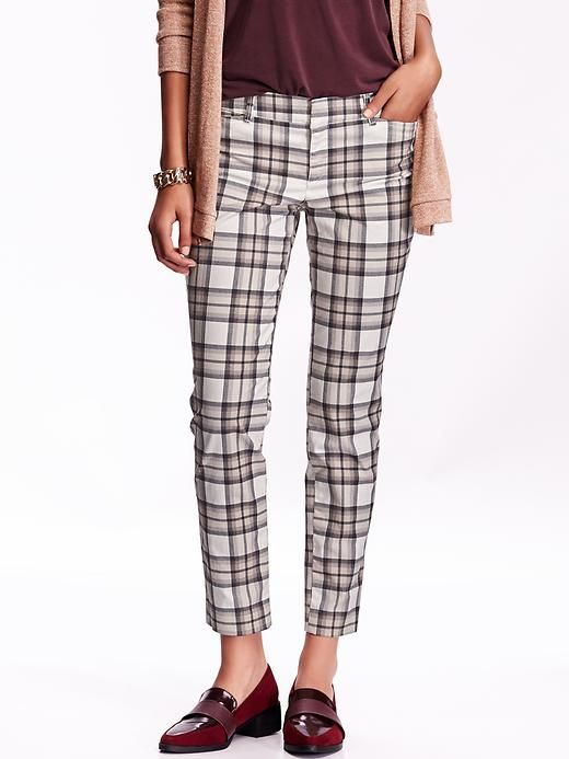 Women's Patterned Pixie Ankle Pants