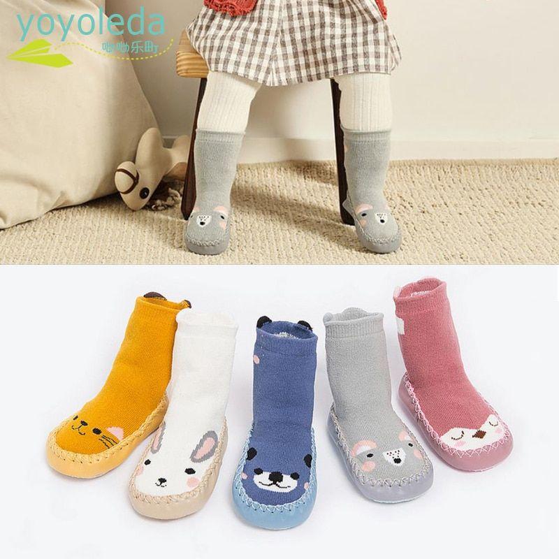 7e4446b13e socks Kid Cartoon Socks Shoes Children Infant Soft Anti Slip Warm ...