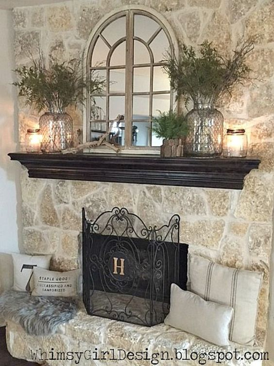 Photo of 11 Mantel Decor Ideas With Farmhouse Style | The Unlikely Hostess