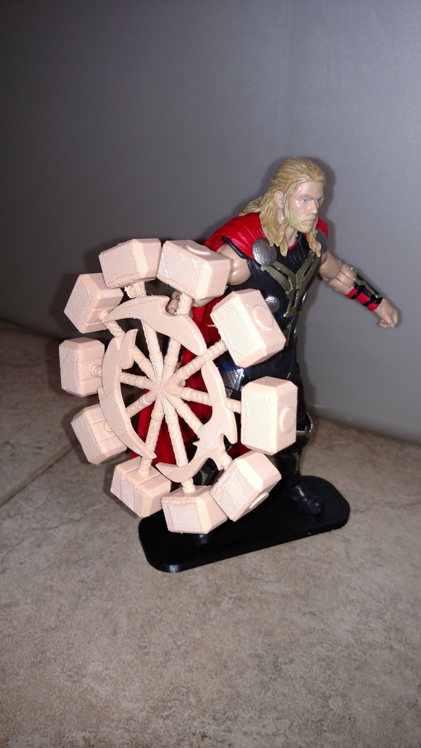 marvel legends thor hammer