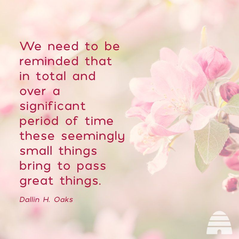 President Dallin H Oaks Small And Simple Things Apr 2018