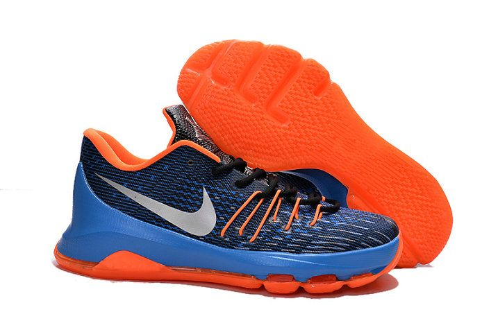 KD 8 Sale VIII OKC Away Total Orange Photo Blue Silver  2b7b65120