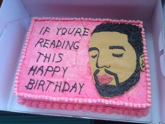 Image result for drake birthday cake tumblr Diy Pinterest