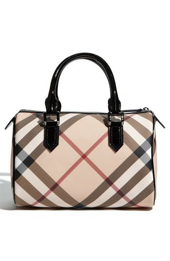 Burberry Nova Check Satchel Nordstrom I Would Never Need Our Want Another Purse Ever