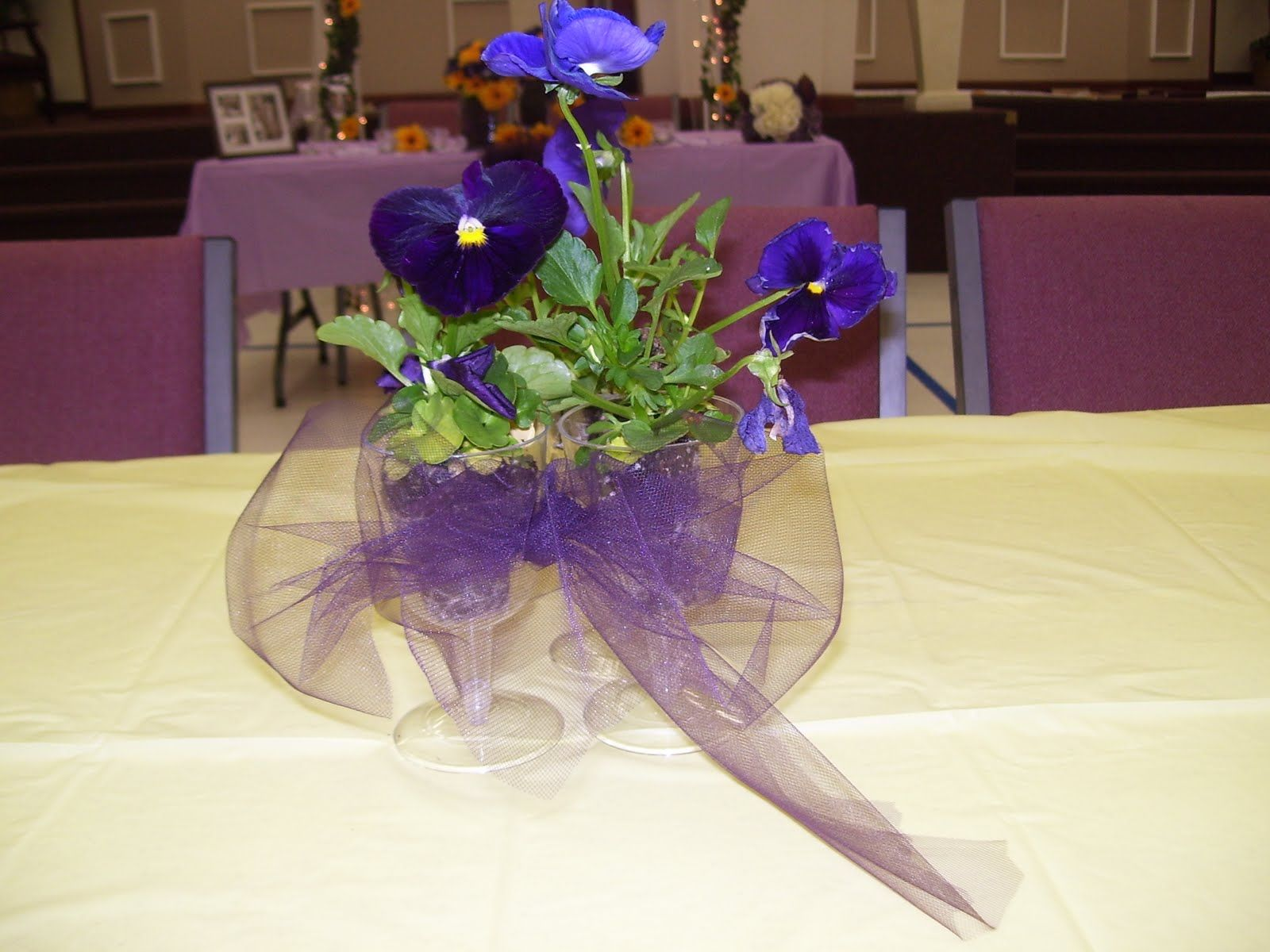 Banquet Table Decorations - Special Events Decorator Mother Daughter Banquet