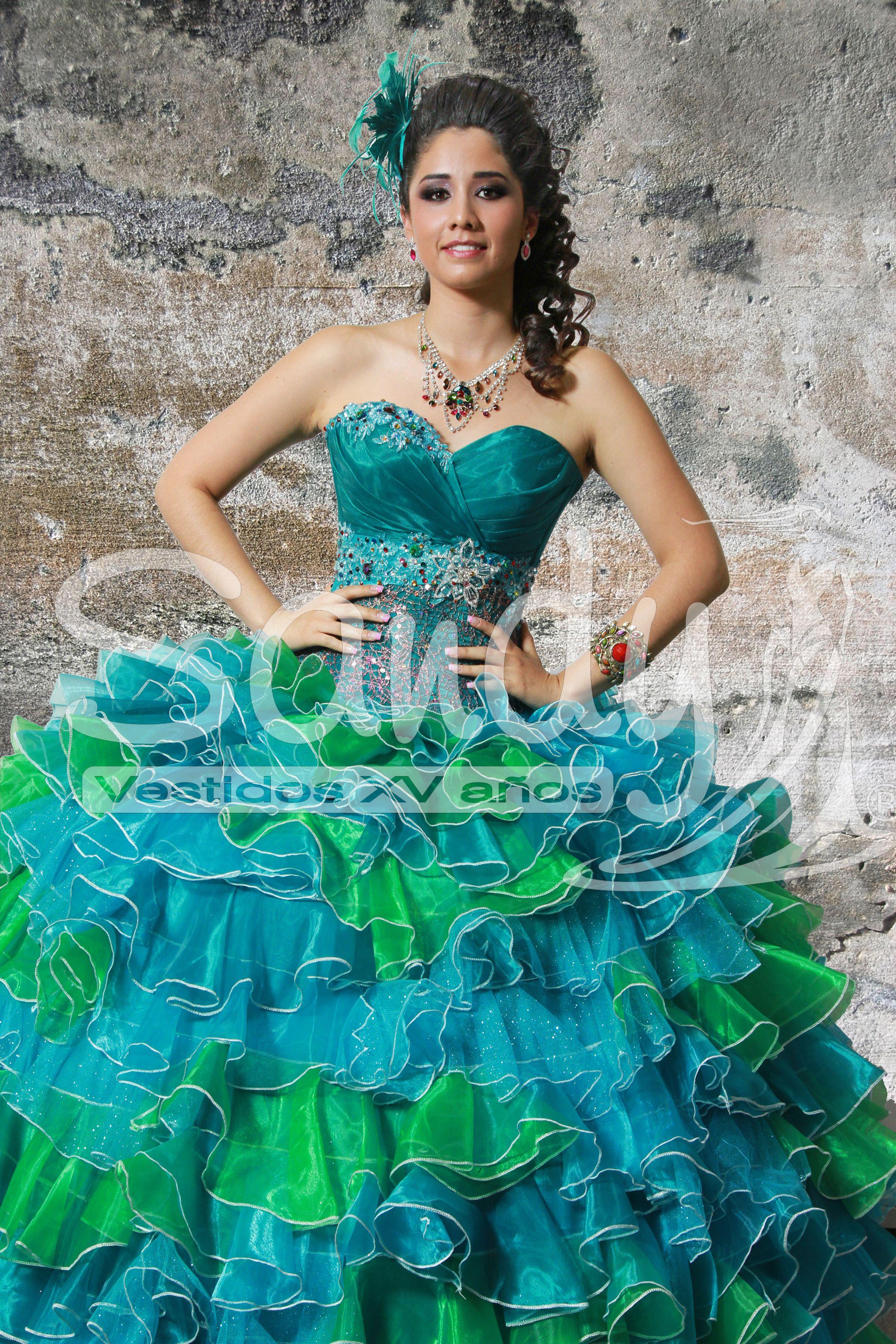 Modelos de vestidos para fiestas de 15