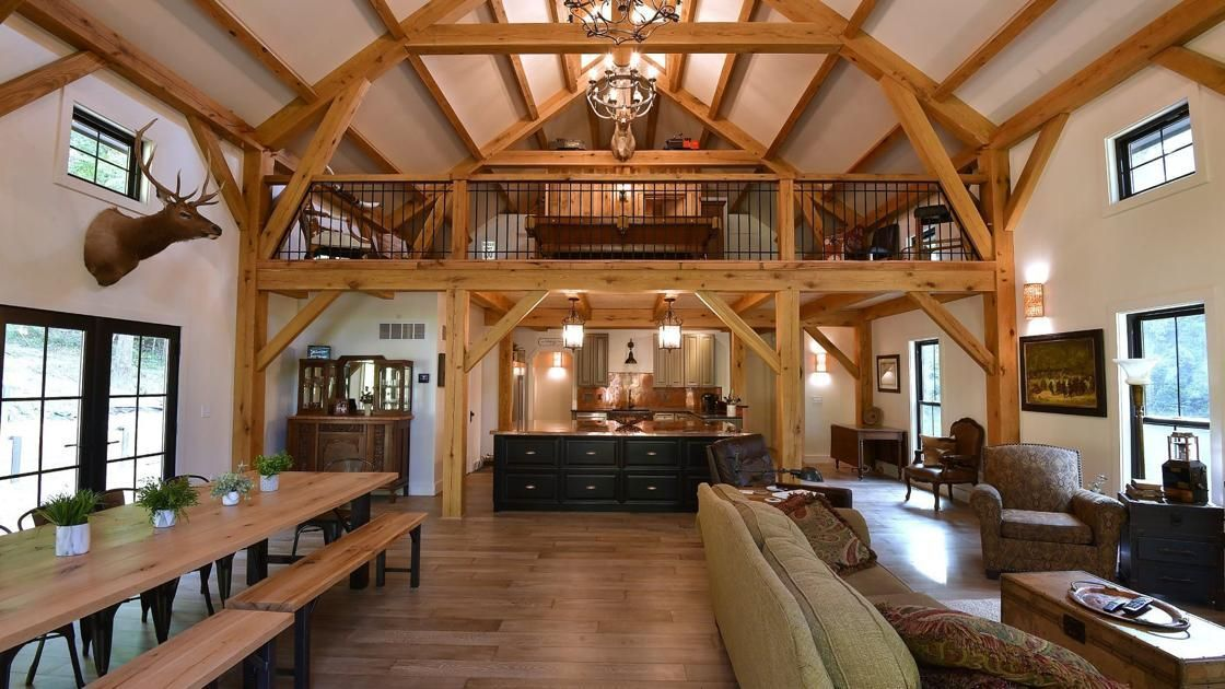 At Home: Barn-style timber home brings unique craftsmanship to