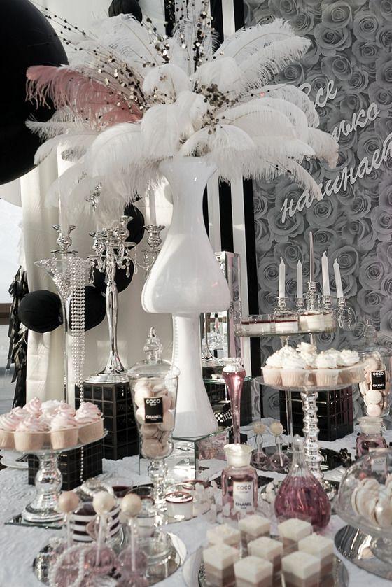 Розово-бело-серебряно-черный проект)) - Свадьбы - Сообщество декораторов текстилем и флористов