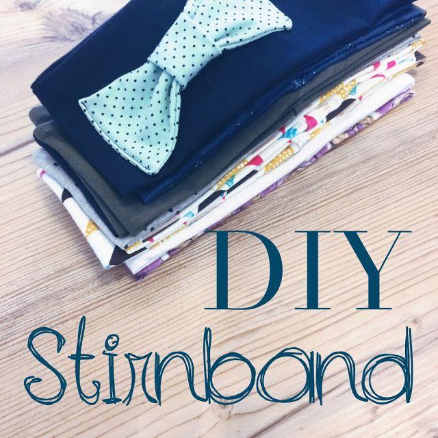 stirnband {DIY} ...