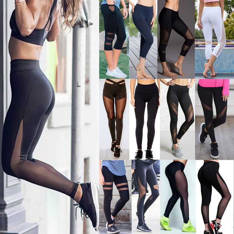 a893699789 Womens Yoga Workout Gym Leggings Fitness Running Sports Pants Stretch  Trouser 78 #fashion