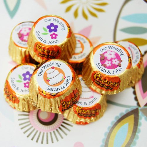 Personalized Wedding Reeses Peanut Butter Cups