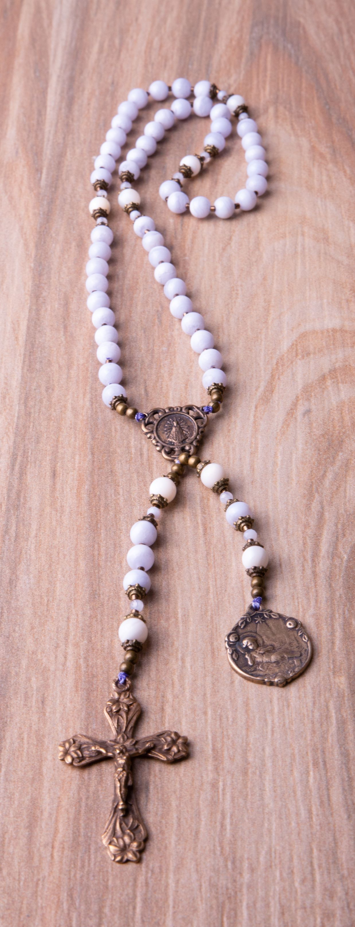 Need a baptism gift? This rosary makes a lovely gift for ...
