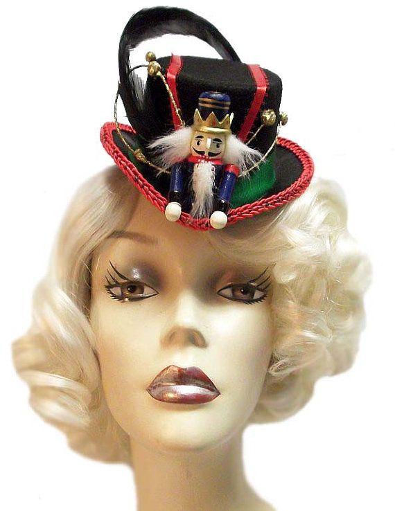 7958c30995e29 Nutcracker Mini Fascinator Christmas Top Hat by JenkittysCloset ...