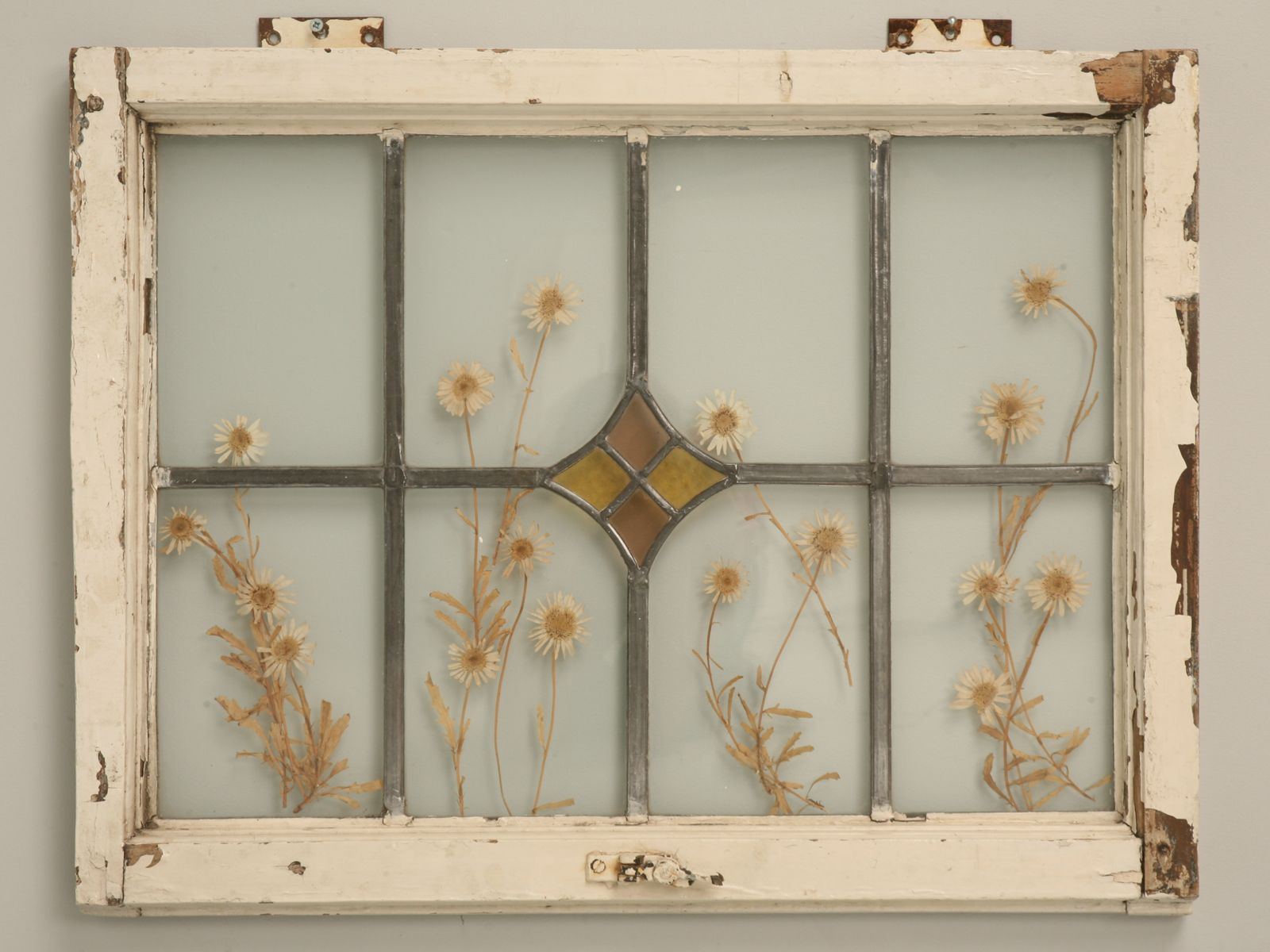Image Detail For Antique American Stained Glass Window Wall