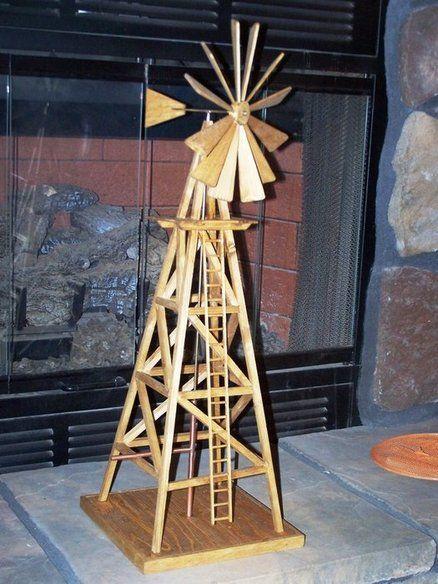 Wooden Windmill Plans