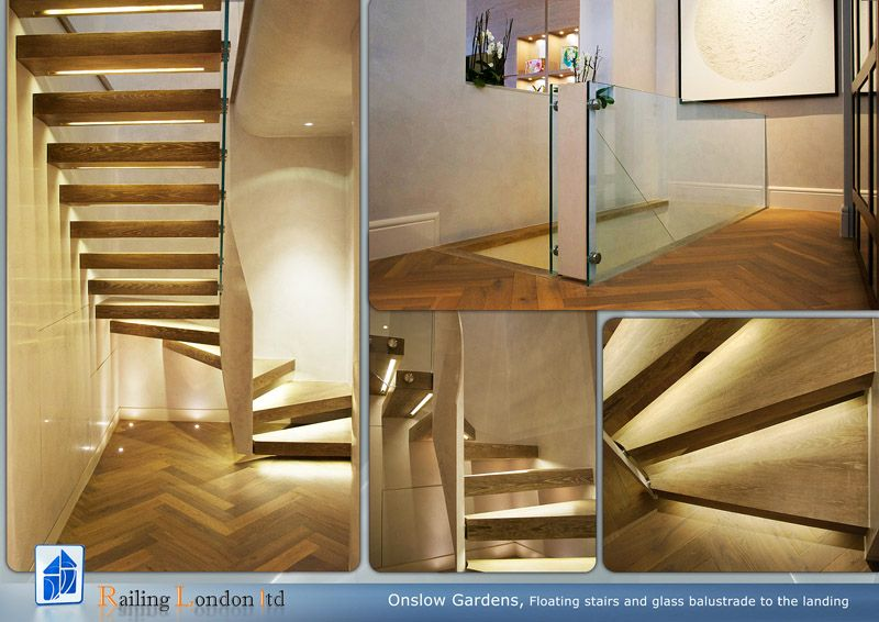 Best Staircase Staircase Wood Staircase Floating Stairs 400 x 300