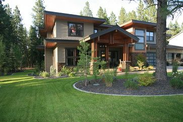 Front Exterior Exterior By Taylor Design Prairie Style Houses Brick House Colors Exterior House Colors