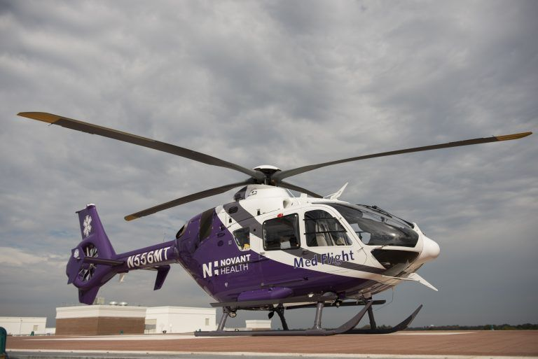 Novant Health Med Flight Takes To The Air New Aircraft Health System Advanced Care