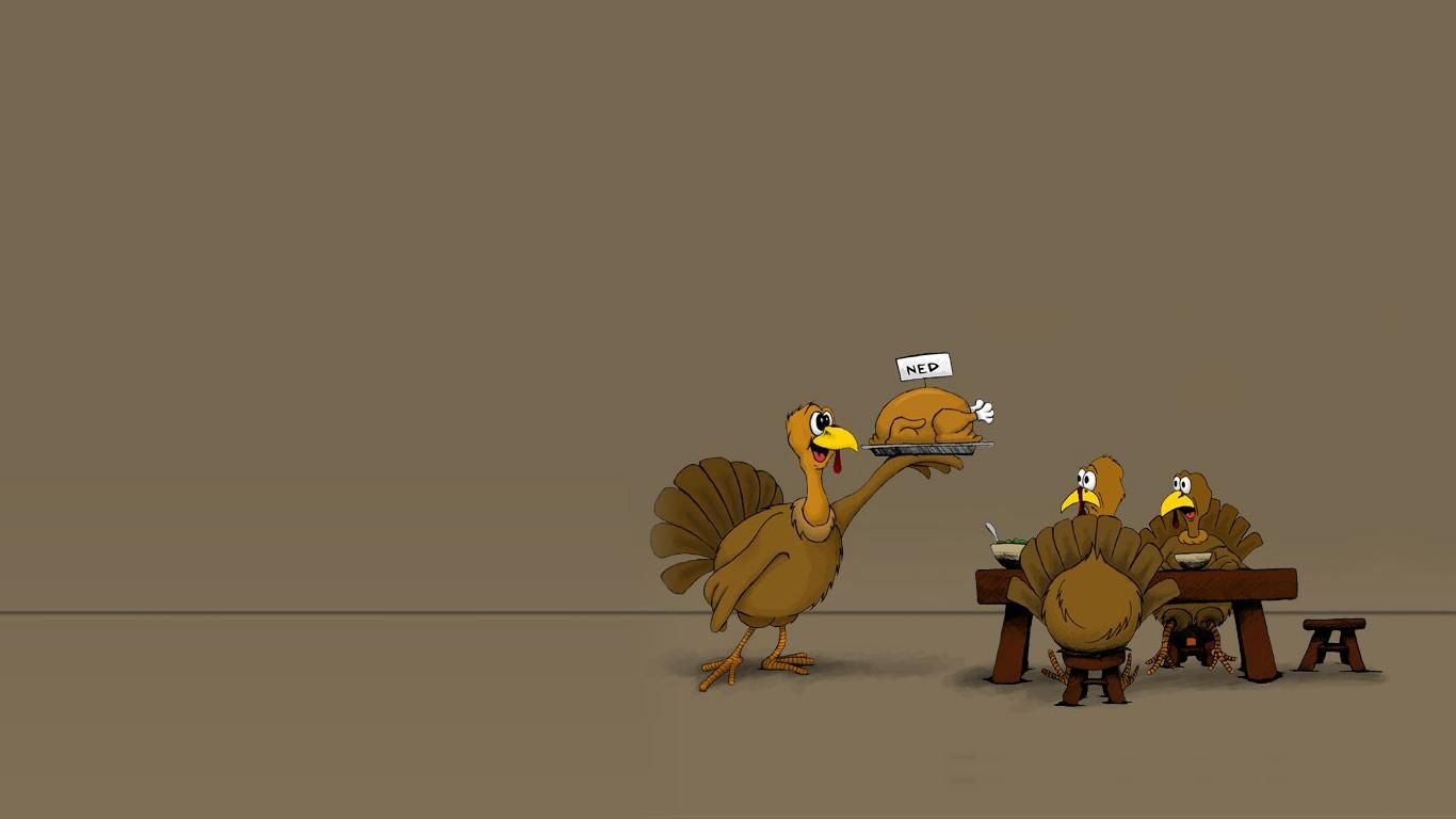 Funny Thanksgiving Wallpaper | Holiday: Thanksgiving | Thanksgiving wallpaper, Happy ...