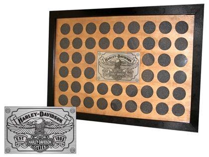 Harley davidson 48 poker chip frame blackjack tims boots