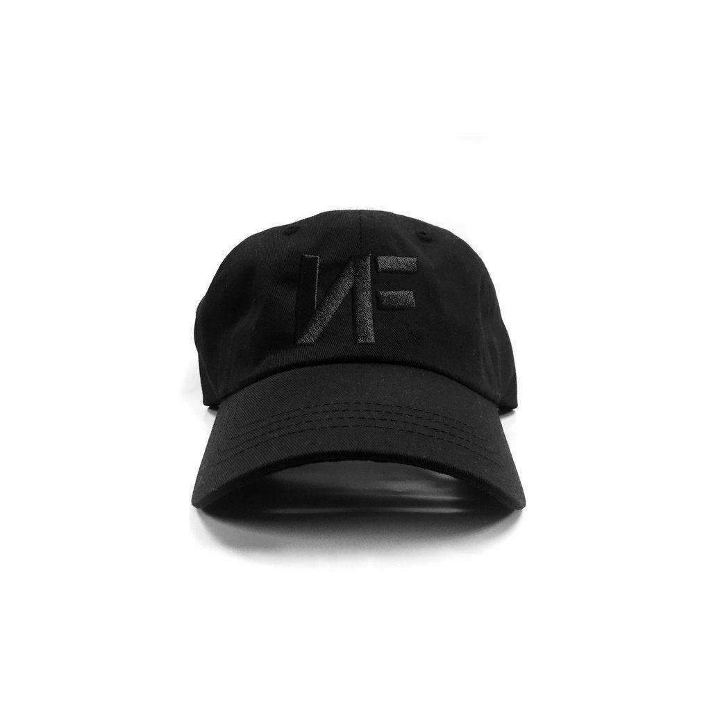 b191acd4c6f Black NF Logo Dad Hat