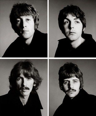 The Beatles by Richard Avedon