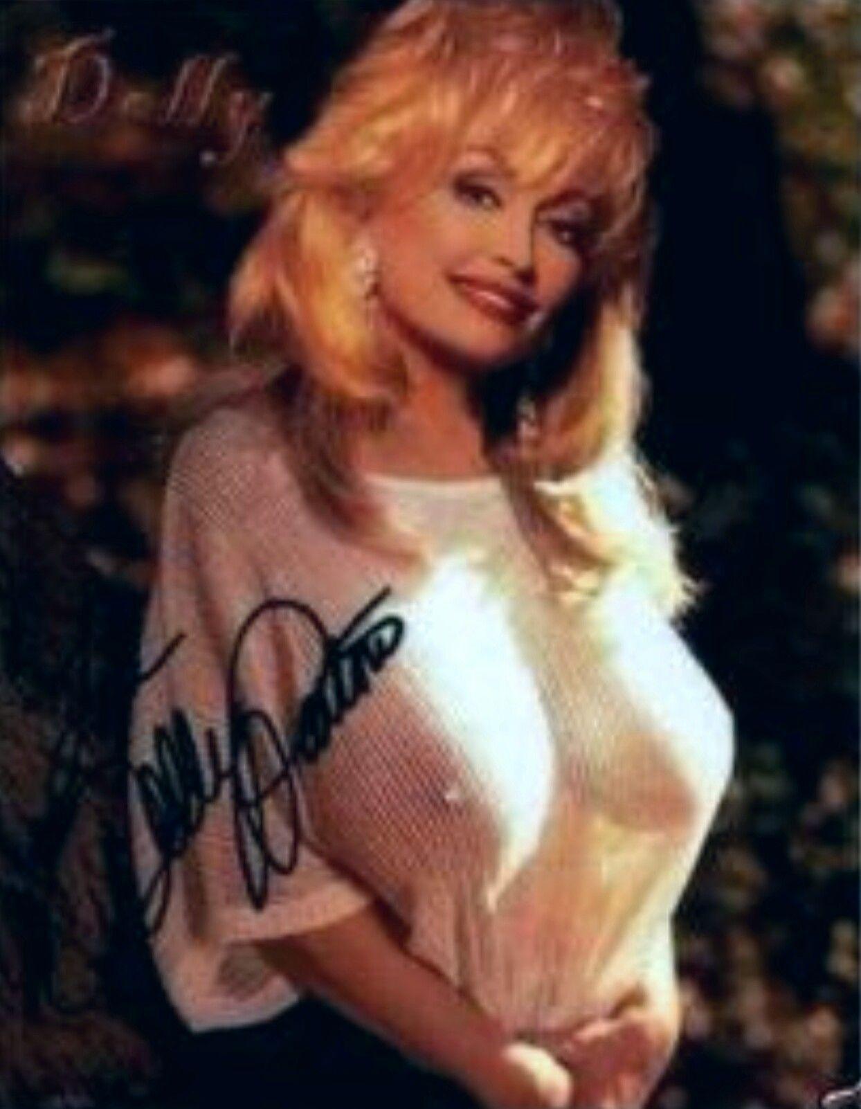 dolly parton breast nude