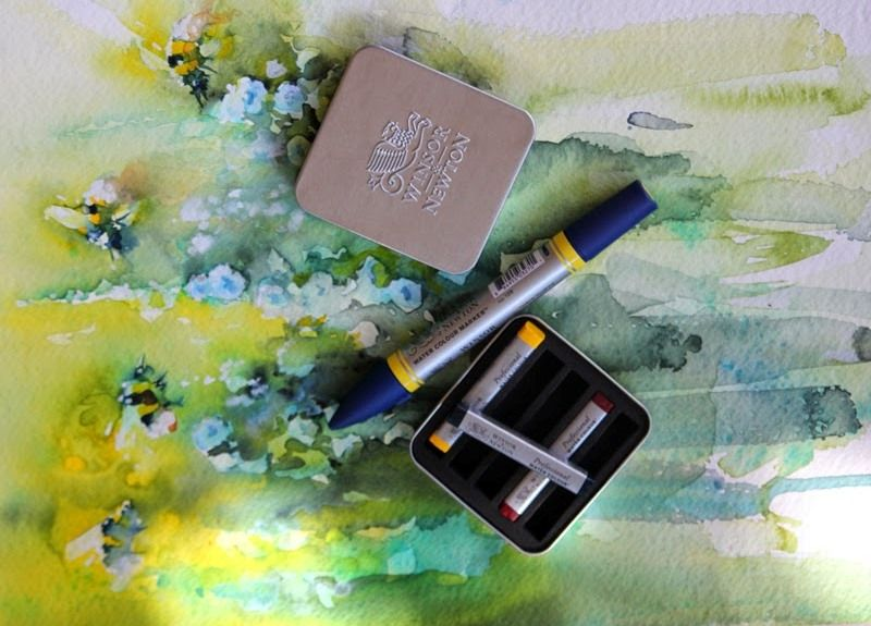 Windsor And Newton S New Watercolour Markers And Sticks Http Www
