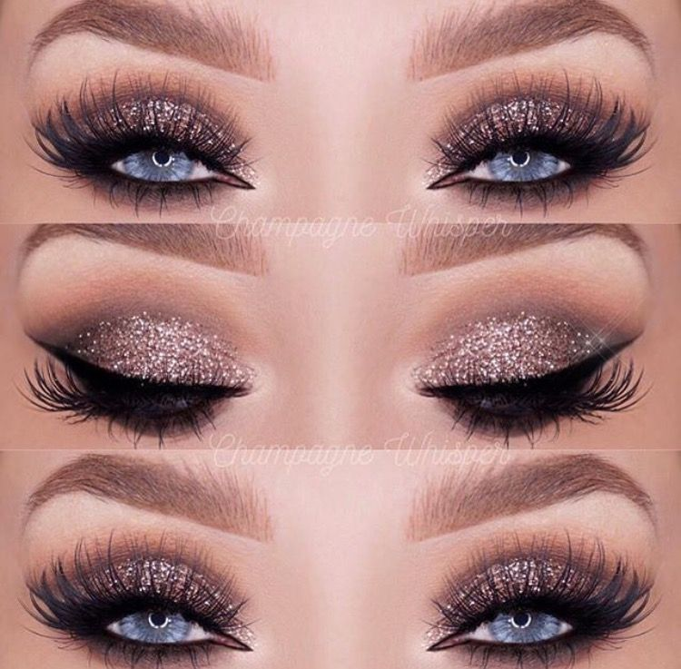 Dramatic Eyes Are A Must For A Glamorous Wedding Day Makeup Look