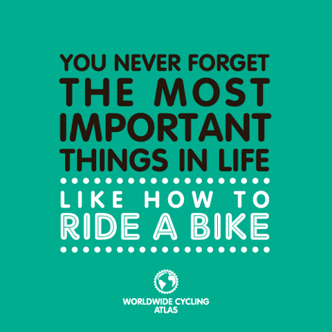 You Never Forget The Most Important Things In Life Like How To