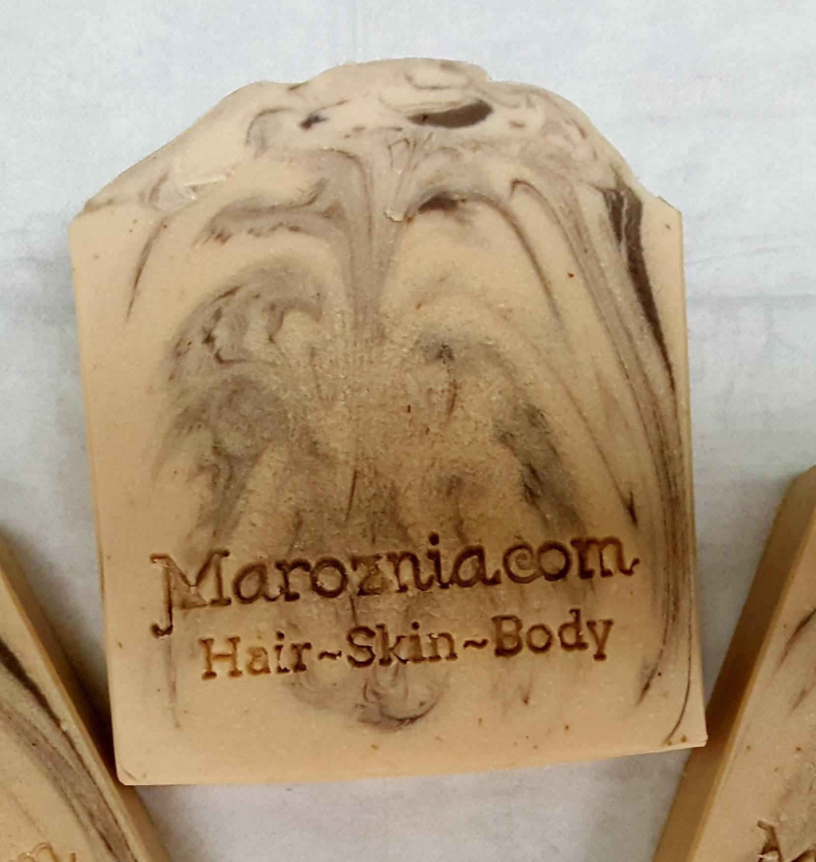 Smooth oatmeal milk u honey handcrafted spa soap bar by