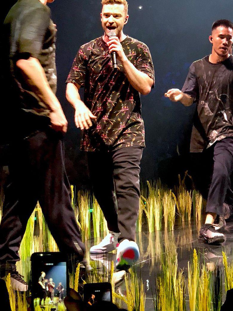 Justin Timberlake Performs In Air Jordan 3 Quai 54 Friends And Family c3c39c64b