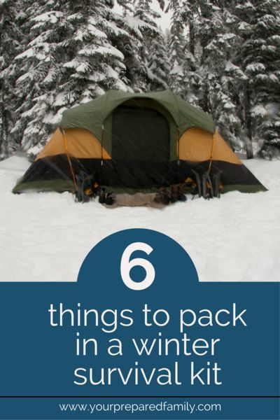 The Most Useful Items For Your Own Winter Survival Food Kit #wintersurvivalsupplies