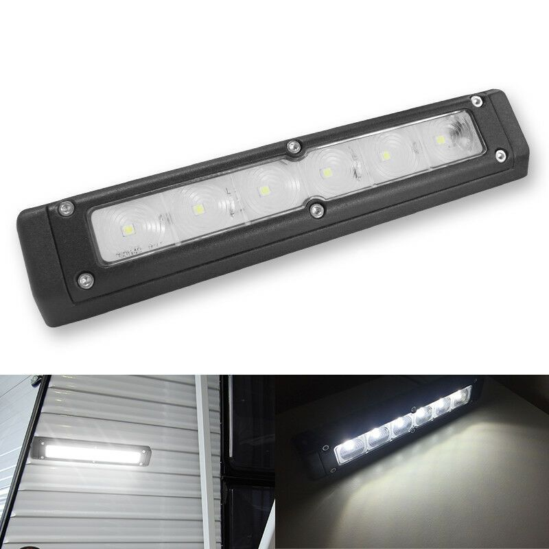 Sponsored Ebay 12v 720lm Rv Led Awning Lights Camper Trailer Boat Exterior Wall Bar Lamp Cool W Awning Lights 12v Led Lights Led Recessed Ceiling Lights