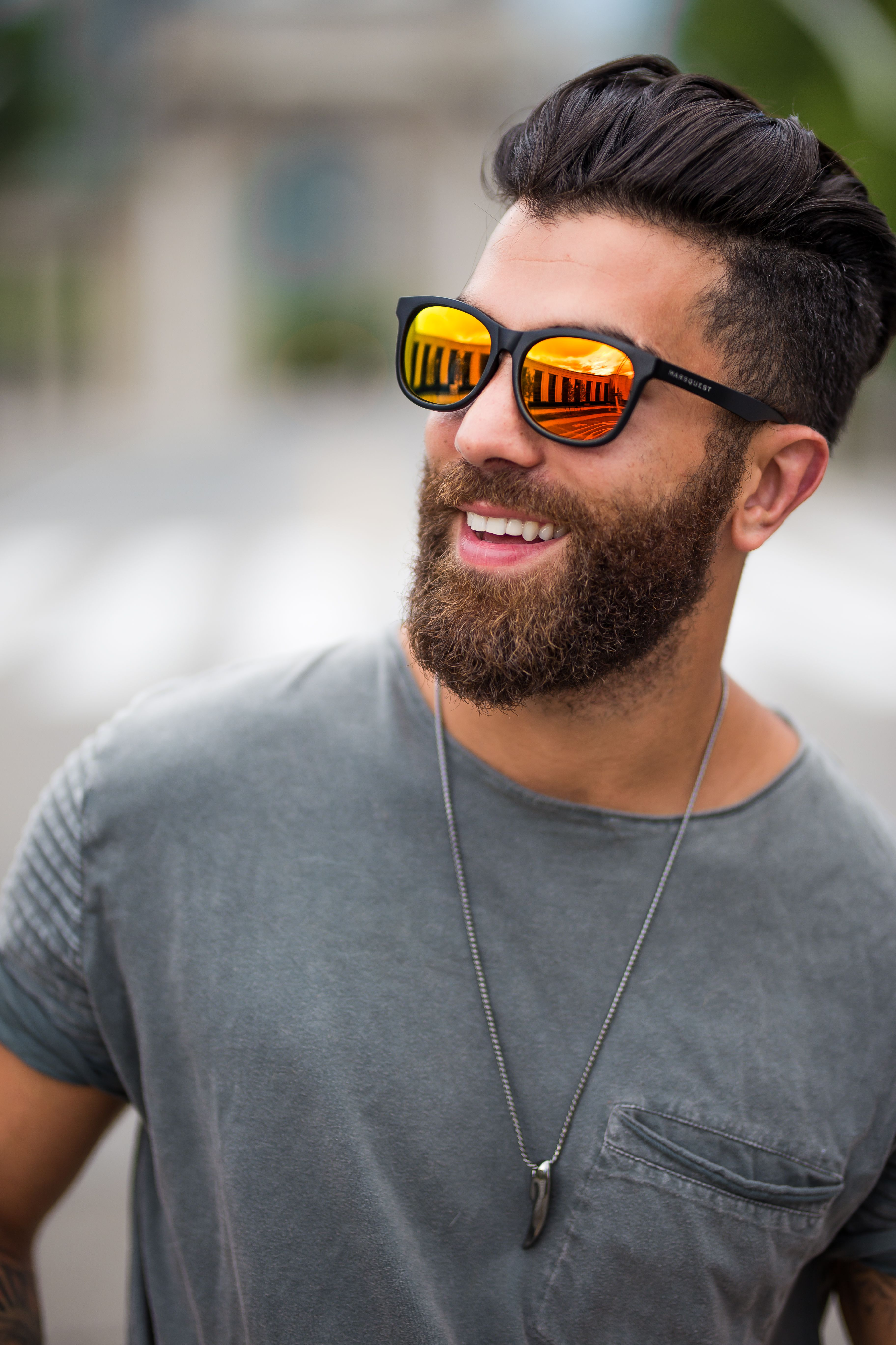 6239e0927a Reza Jackson ( reza jax) is fiery hot in Carbon Black x Neon Red sunglasses  from Marsquest. Shop these wayfarers and more for only  30 USD from ...