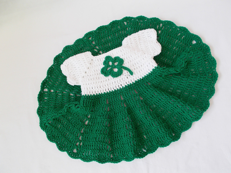 St Patrick S Day Baby Dress Crochet Baby Green Dresses St