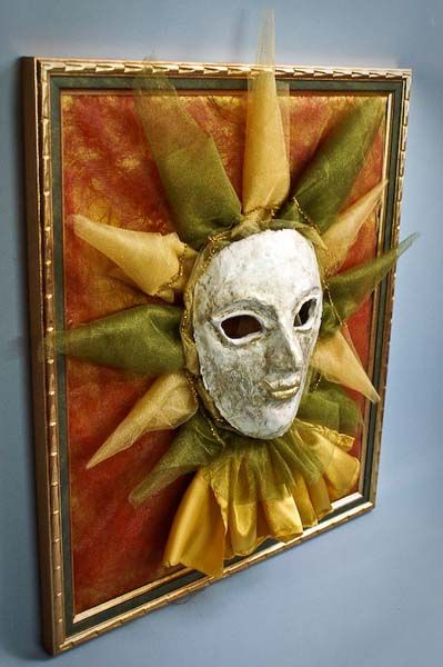 wall decor art inspired by vanetian mask for masquerade | Mask ...