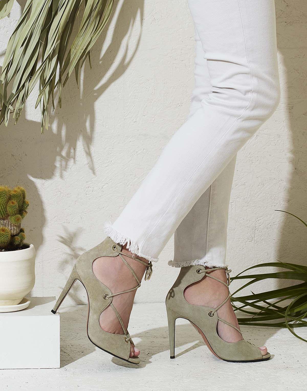 See Aquazzura's Lush Spring Shoes Grow Wild